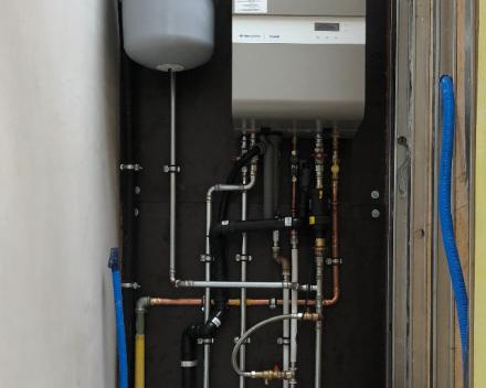 Ververken Pedro - Plaatsen van verwarmingsketel (condensatieketel) Gent